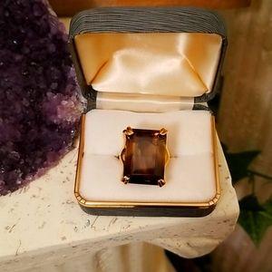 Hendon Smokey Quartz Ring - Size 5